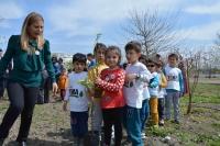 Ortaca'da minik öğrenciler fidan dikti