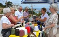 Datça'da 'Senin Çöpün, Benim  Hazinem' Sloganlı Pazara Turist İlgisi