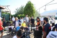Tekerlekli Sandalye Tenis Türkiye  Şampiyonası 3. kez Bodrum'da başladı
