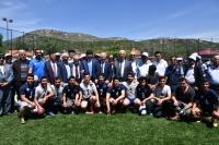 Büyükşehir'den göç alan Yenice'ye spor tesisi yatırımı