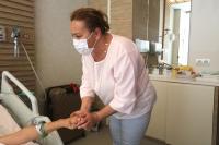 Asitli saldırı mağduru Berfin'in tedavisi sürüyor