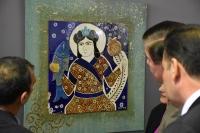Bodrum'da sergi açılışı