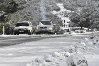 Muğla'da karla mücadele çalışması