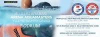 6. Uluslararası Arena  Aquamasters Yüzme  Şampiyonası Muğla'da yapılacak