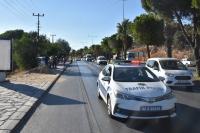 Yağ dökülen yolda araçlar kontrolden çıktı: 2 yaralı