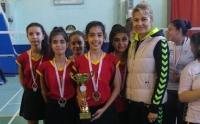 Badmintonda ilk üçte iki Milaslı takım