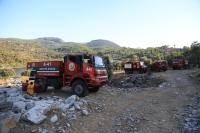 Soğutma çalışmaları tamamlandı, 30 hektarlık alan zarar gördü