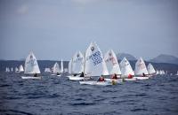 7. Bodrum Uluslararası Optimist Yarışları devam ediyor