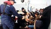 112 göçmen yakalandı
