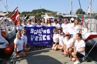 Kadınlar barışa yelken açtı
