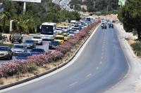 Gözde turizm merkezi Bodrum'da bayram yoğunluğu