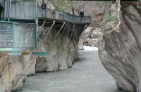Saklıkent Kanyonu'nu 482 bin kişi ziyaret etti