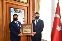 Bodrum Belediye Başkanı Ahmet Aras, Ankara'da ziyaretlerde bulundu