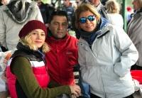 Muğla'da yerleşik yabancılar İztuzu'nda Noel'i kutladı