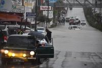 Bodrum Sular Altında Kaldı... Dolunun Etkili Olduğu Bölgede Şelaler Oluştu