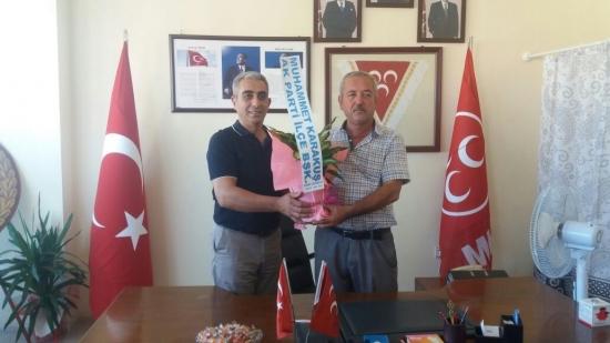 Dalaman AK Parti'den MHP'ye Ziyaret