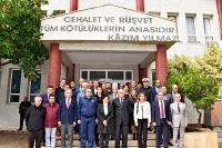Vali Civelek, Datça'da Bir Dizi Ziyaret Gerçekleştirdi