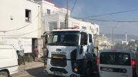 Bodrum'da iki iş yerinin arasında çıkan yangın paniğe yol açtı