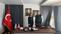 İYİ Parti Bodrum İlçe  Başkanı Şahbaz'a ziyaret