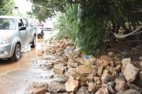 Torba'da içme suyu isale hattında patlama