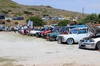 Modifiyeli araçlar Bodrum'da görücüye çıktı