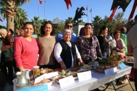 Milas'ta zeytinyağlı yemek yarışması