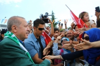 AK Parti'nin Muğla mitingi