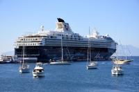 Mein Schiff2, iki bin 116 turist getirdi