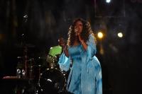 Gloria Gaynor Bodrum'da konser verdi