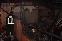 Turgutreis'te iş yeri yangını