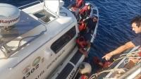 Göçmenleri taşıyan tekne battı :1 ÖLÜ