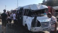 Bodrum'da trafik kazası: 16 yaralı