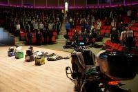 Bodrum'da Öğrencilere 'Kaskımla  Güvendeyim' Semineri verildi