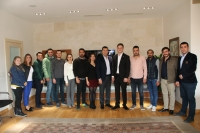 CHP Bodrum İlçe Gençlik Kolları Yönetiminden Kocadon'a ziyaret