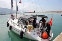Kadın denizciler Ege sularında buluşacak