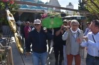 Gazeteci Baki Şehirlioğlu'nun cenazesi Bodrum'da defnedildi