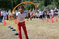 Türkiye'de ilk:  Antik Kentte Olimpik Gün kutlaması