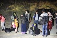 Gümbet'te10 düzensiz göçmen yakalandı