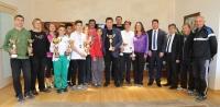 Atletizmciler Başkan Kocadon'u ziyaret etti