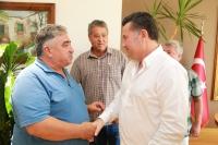 Gündoğan ve Göltürkbükü  spor kulübü yöneticilerinden ziyaret