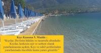 MUÇEP'ten Muğla kıyılarının kullanımına imza kampanyası BAŞKA BİR MUĞLA MÜMKÜN