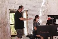 Genç piyanistler Toprak Ev'de