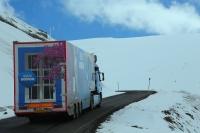 Bodrum Tanıtım Tırı Kars'ta