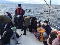 63 sığınmacı yakalandı