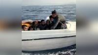 Bodrum'da 12  Göçmen Yakalandı