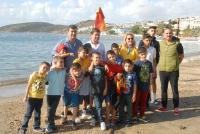Korunmaya Muhtaç Çocukların Bodrum mutluluğu
