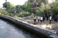 Kanala giren çocuk boğuldu