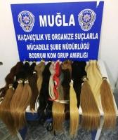 3 Kilo Kaçak İnsan Saçı Ele Geçirildi