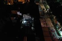 Bodrum'da butik otelin çatısında çıkan yangın söndürüldü