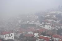 Muğla'da yoğun sis ve sağanak etkili oluyor